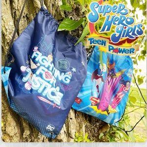 DC Super Hero Girls Drawstring Bag